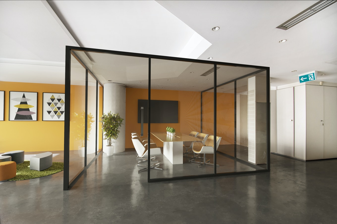 3D Staging office commercial
