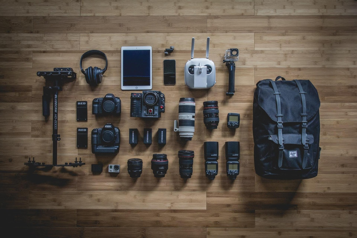 Photographer Real Estate Backpack